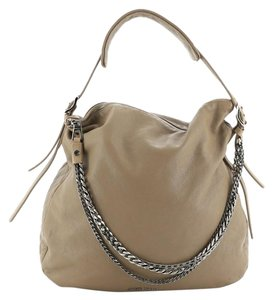Jimmy Choo Leather Tote in Brown