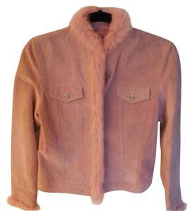 Revue Pink Leather Jacket