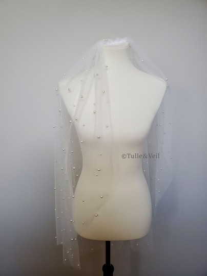 Preload https://img-static.tradesy.com/item/26984852/ivory-short-single-tier-penny-bridal-veil-0-0-540-540.jpg