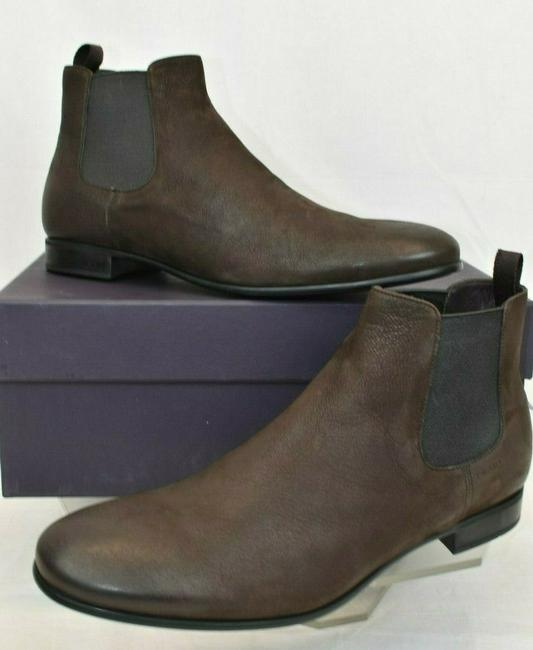 Item - Brown 2t2723 Distressed Leather Elastic Slip On Ankle Boots 8.5 Us 9.5 Shoes