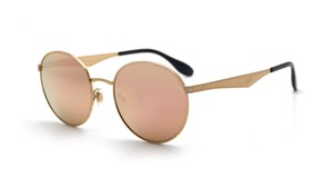 Ray-Ban Ray Ban Round Gold Metal Frame Sunglasses RB3537