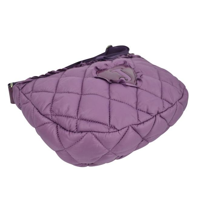 Juicy Couture Quilted Blake Puff Shoulder Convertible Glouster Purple Nylon Hobo Bag Juicy Couture Quilted Blake Puff Shoulder Convertible Glouster Purple Nylon Hobo Bag Image 7