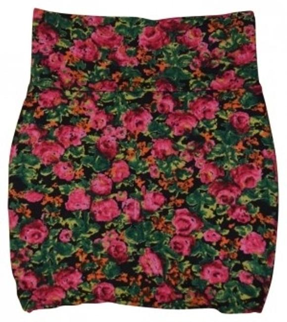 Lily Rose Mini Skirt Floral