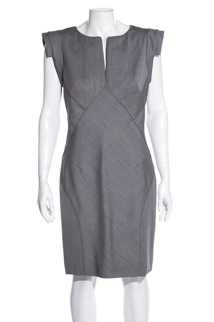 Item - Gray Short Cocktail Dress Size 8 (M)