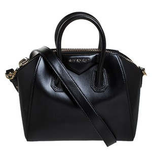 Givenchy Leather Mini Satchel in Black