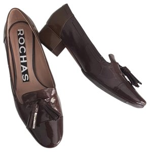 Rochas brown Pumps