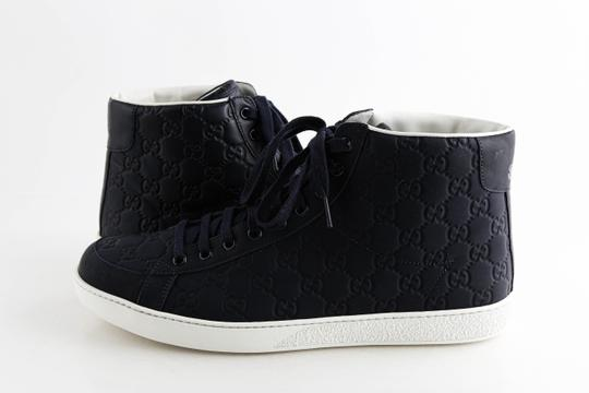 Preload https://img-static.tradesy.com/item/26987383/gucci-blue-rubberized-leather-high-top-sneakers-shoes-0-0-540-540.jpg