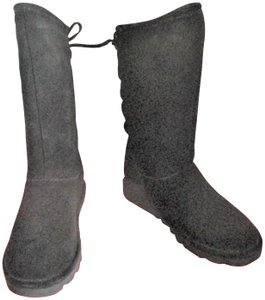 Bearpaw Next Day Shipping Black Boots