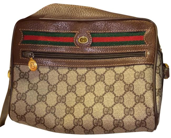 Gucci Monogram Leather Baguette Gucci Monogram Leather Baguette Image 1