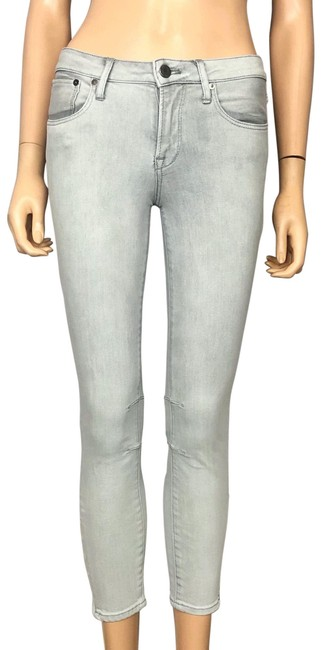 Item - Gray Light Wash By Capri/Cropped Jeans Size 0 (XS, 25)