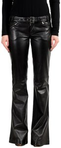 Versace Jeans Collection Super Flare Pants Black