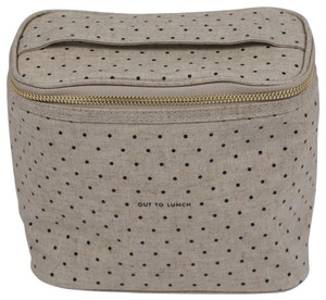 Kate Spade Casual Polka Dot Beige Travel Bag