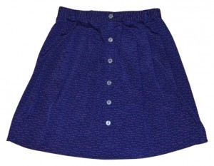 Xhilaration Skirt Purple