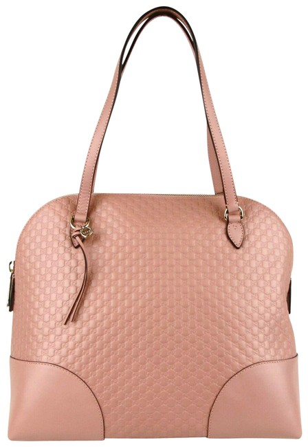 Item - Bag Bree Dome Microguccissima Large 449243 5806 Soft Pink Leather Tote
