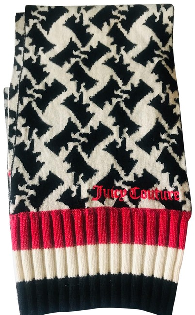 Item - Black White. and Red Scarf/Wrap
