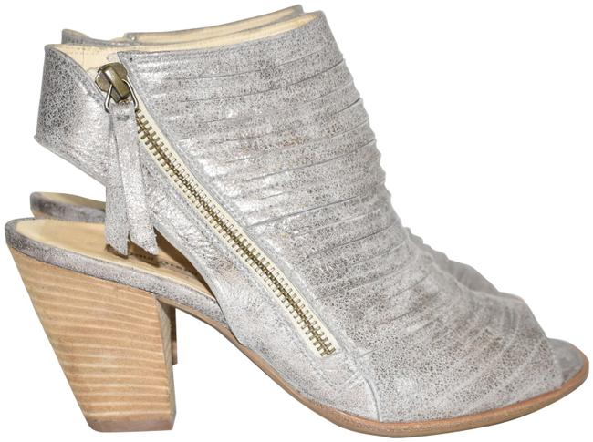 Item - Smoke Cayanne Leather Peep Toe Bootie Boot 1(Pg4 Sandals Size US 7.5 Regular (M, B)