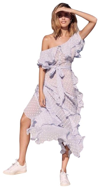 Item - Blue Moon Talking Gown Square Printed Long Formal Dress Size 2 (XS)