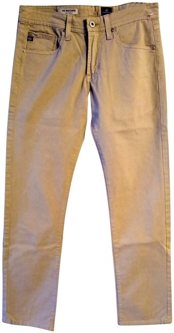 Item - Tan Casual Straight Leg Jeans Size 29 (6, M)