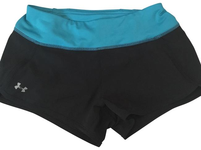 Item - Blue and Black XS Athletic Stretchy Workout Activewear Bottoms Size 0 (XS, 25)