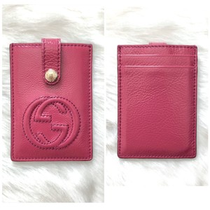 """Gucci """"Soho"""" Patent Leather Card Case or Card Holder"""