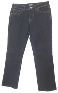 Angels Jeans Juniors Casual Boot Cut Jeans-Dark Rinse