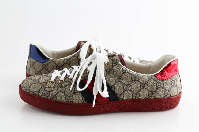 Item - Beige Ace Gg Supreme Sneakers Shoes