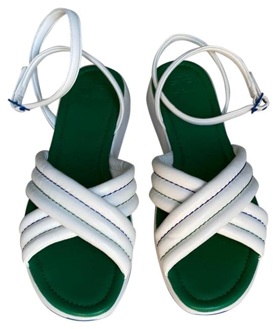 Item - White Sandals Size US 11 Regular (M, B)
