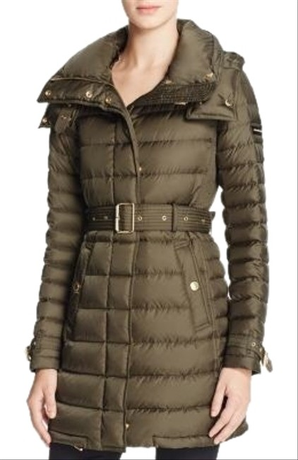 Item - Grey Harrowden Quilted Coat Size 8 (M)