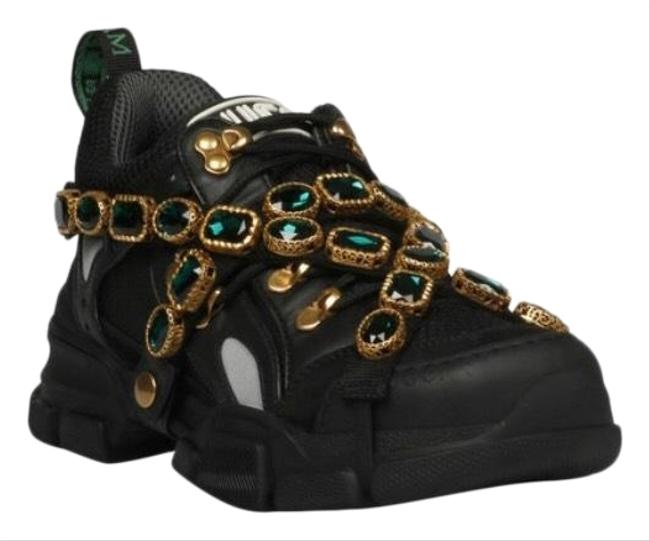 Item - Black Flashtrek with Removable Crystals Brand (Us 8) Sneakers Size US 4 Regular (M, B)