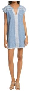 Soft Joie short dress blue on Tradesy