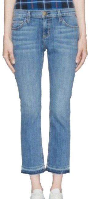 Item - Blue Light Wash Current/ Cropped Gunpowder Straight Leg Jeans Size 30 (6, M)