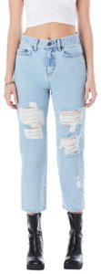 Carmar Hermia High Rise Festival Destroyed Relaxed Fit Jeans-Distressed