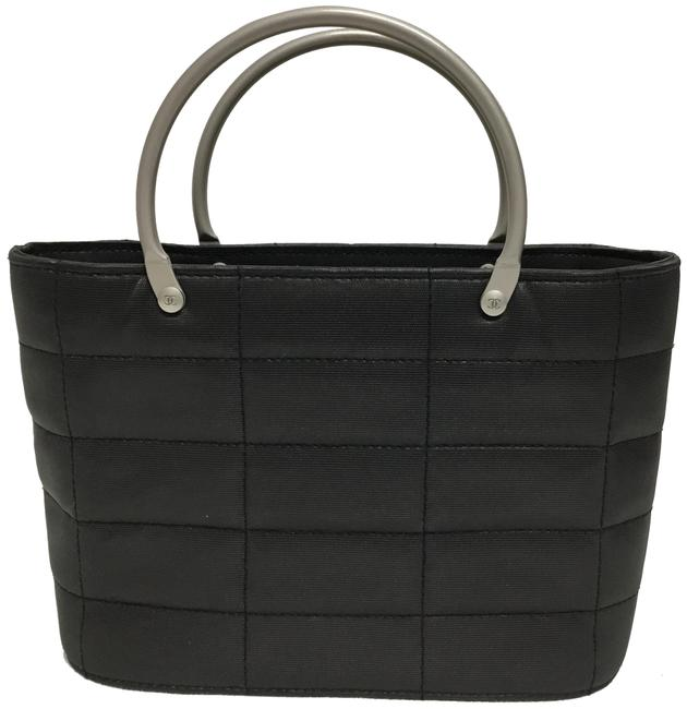 Item - Evening Mini Quilted Gray Nylon Tote