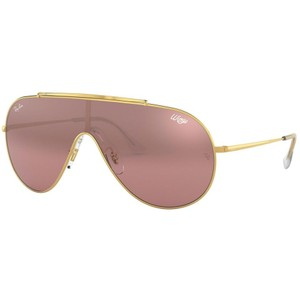 Ray Ban Ray Ban Gold/Pink Rb3597 9050/Y2 Gold/Pink Sunglasses
