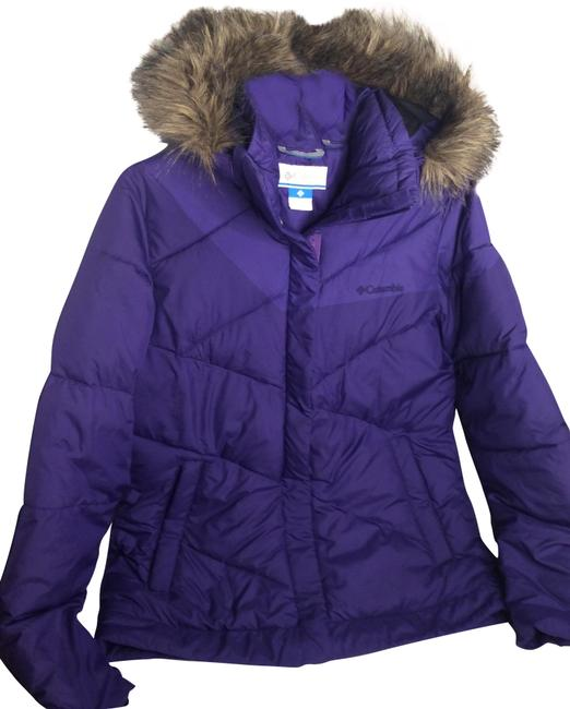 Columbia Sportswear Company Purple Jacket Coat Size 4 (S) Columbia Sportswear Company Purple Jacket Coat Size 4 (S) Image 1