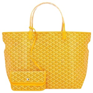 Goyard Tote in yellow