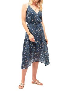 Navy/Multi Maxi Dress by Trovata