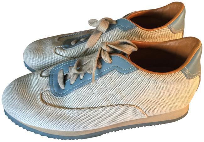 Item - Sky Blue Italy Trainers Sneakers Size US 9.5 Regular (M, B)