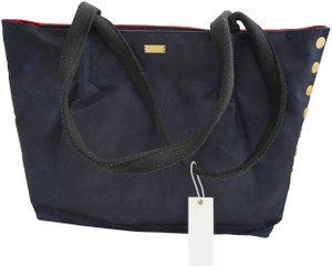 Hammitt Large & Gold Nylon New With Tags Tote in Blue