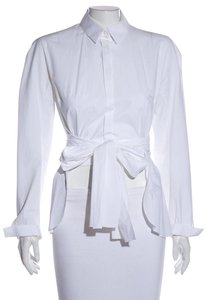 Delpozo Top White