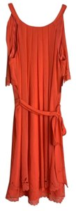 Jessica Simpson short dress Orange on Tradesy