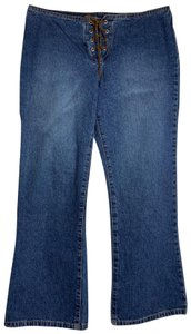 Paris Blues Flare Leg Jeans-Medium Wash