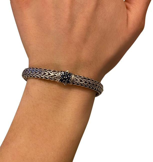 Item - Silver and Sapphire Bracelet