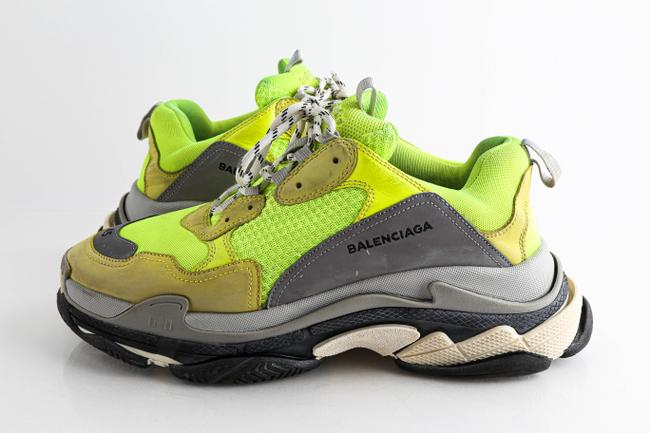 Item - Green Triple S Trainer Shoes