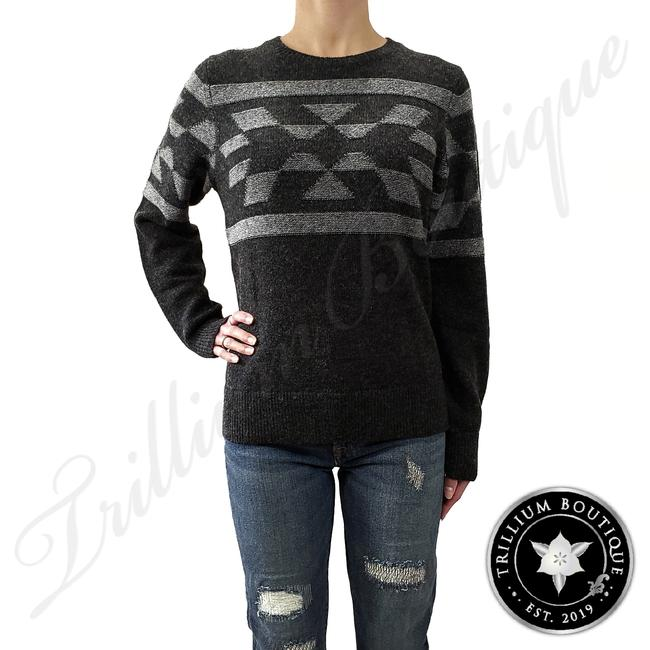 Item - Women's Wool Blend Charcoal Heather/Pepper Mari Sweater