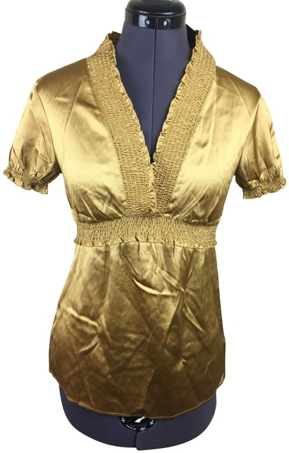 Item - Gold New Blouse Size 2 (XS)