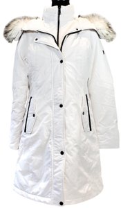 1 Madison Winter Faux Fur Cotton Hooded Fall Coat