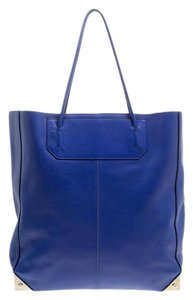Alexander Wang Leather Prisma Tote in Blue