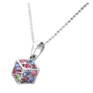 Fashion Jewelry For Everyone Dice Pendant Multicolored Crystals Dice Pendant Holiday Club Gifts