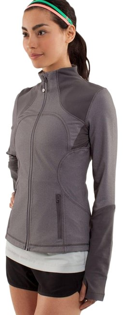 Item - Gray Forme Soot Light Activewear Outerwear Size 4 (S)